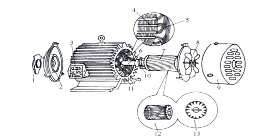 一个电动机定子绕组的匝数是怎么确定的呢问:比如说有两个电机.