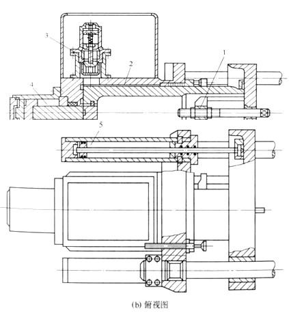 注塑机液压式合模装置常用结构有几种?各有哪些特点?