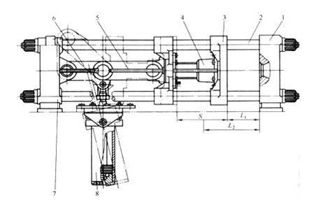 模具油缸结构图