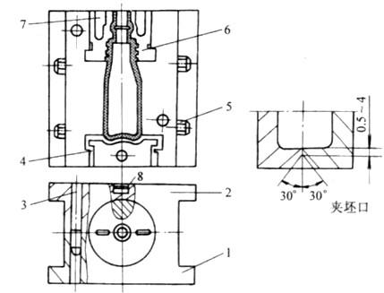 中空吹塑模具结构有何特点?