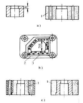 锌合金冲裁模凹模结构形式有哪些?