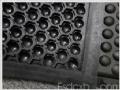黑色耐用型球形可拼接防静电抗疲劳地垫