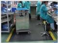 防静电抗疲劳地垫耐用钢花纹防滑型