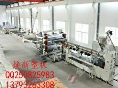 PVC汽车内饰地板革生产线
