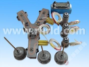 订制注塑模具热流道 针阀式热流道系统
