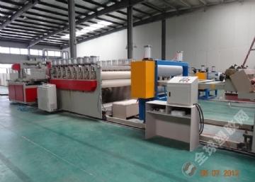 建筑模板设备生产线-中国首先无锡博宇塑机3