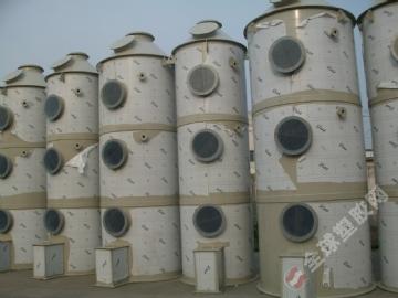 高品质pp耐酸碱洗涤塔