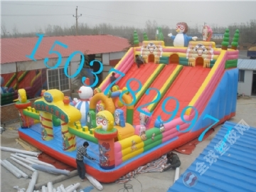 儿童蹦蹦床滑梯