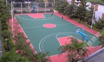 成都篮球场标准尺寸 篮球场平面图 篮球场施工