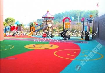 幼儿园卡通操场,幼儿园户外活动场