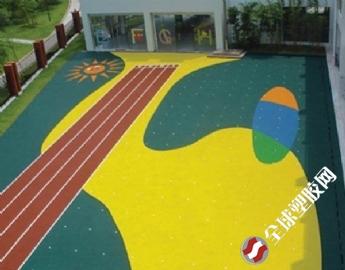 幼儿园塑胶跑道,塑胶跑道施工
