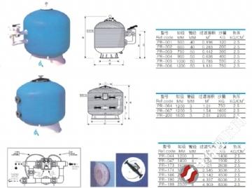 泳池沙缸反冲洗 泳池沙缸过滤器工作原理