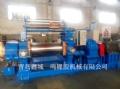 青岛鑫城一鸣400橡胶压胶机 翻胶装置气动割刀功能压胶机