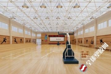 体育场馆运动木地板施工