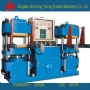 250T快速热压成型机_高精密度双联平板硫化机_自动快速轨道开模硫化机