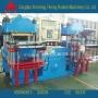双联全自动平板硫化机,双联自动平板机,双联热压成型机
