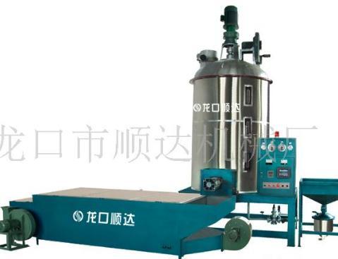 点此询价 泡沫发泡机-详细说明:  山东省龙口市顺达机械厂是eps泡沫