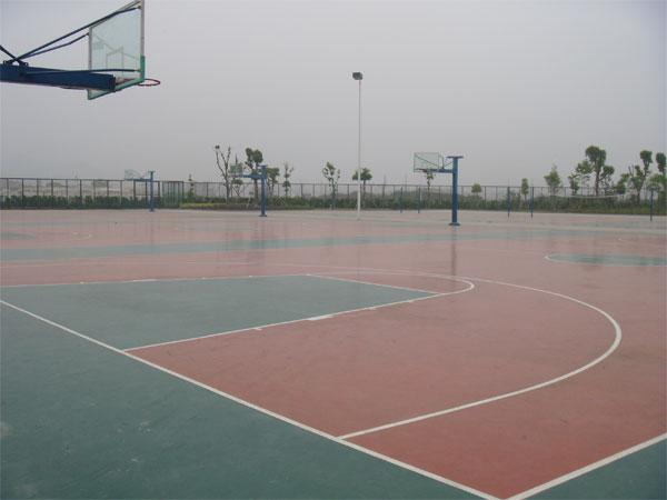 塑胶篮球场-青岛奥兴塑胶铺装有限公司提供塑胶篮球场