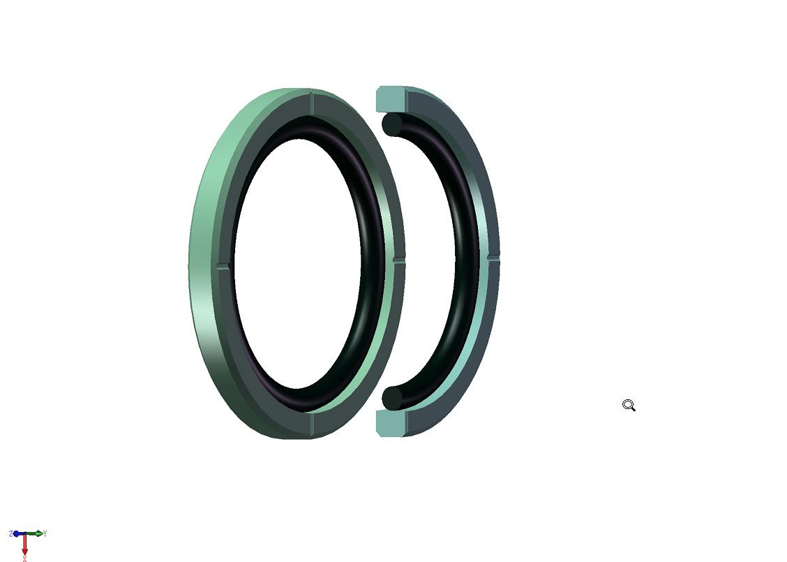 液压密封件 - [橡胶异型件图片