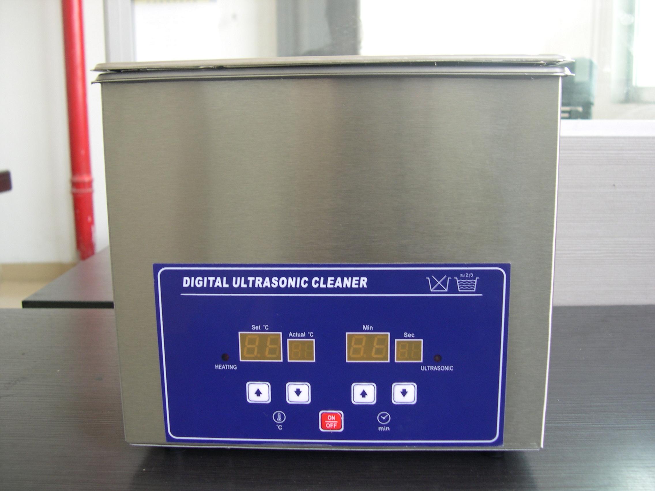 ps-20a 数字型超声波清洗机(全不锈钢制作带加热,定时) 特点: 使用