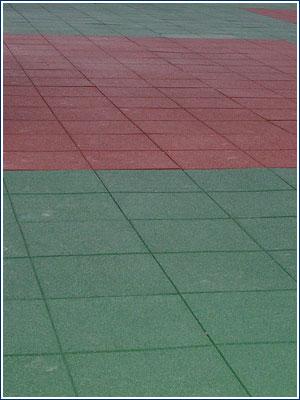 泳池用地板, EPDM 橡胶地垫