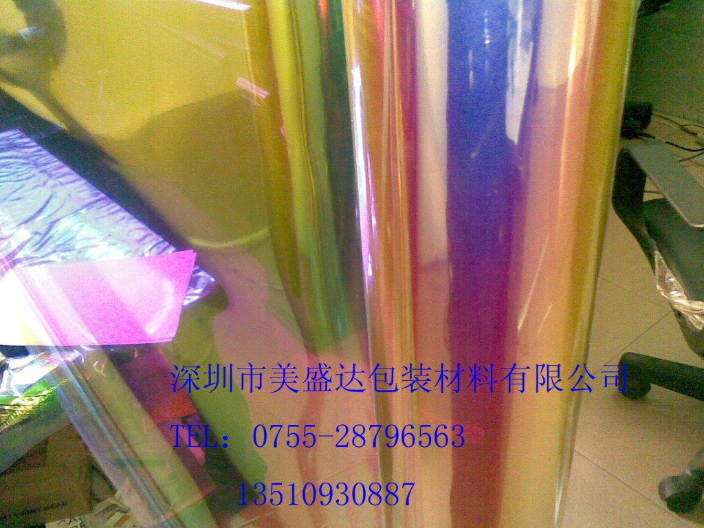 彩虹膜用于圣诞饰物,节日装饰,花卉包装,盆花摆设装饰,工艺品材料
