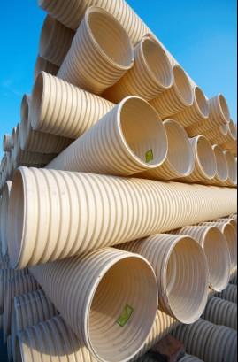 供应PVC U双壁波纹管