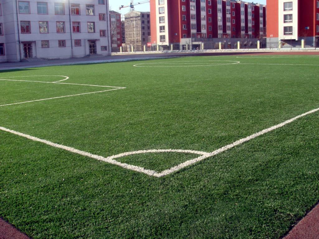 供应人造草坪足球场