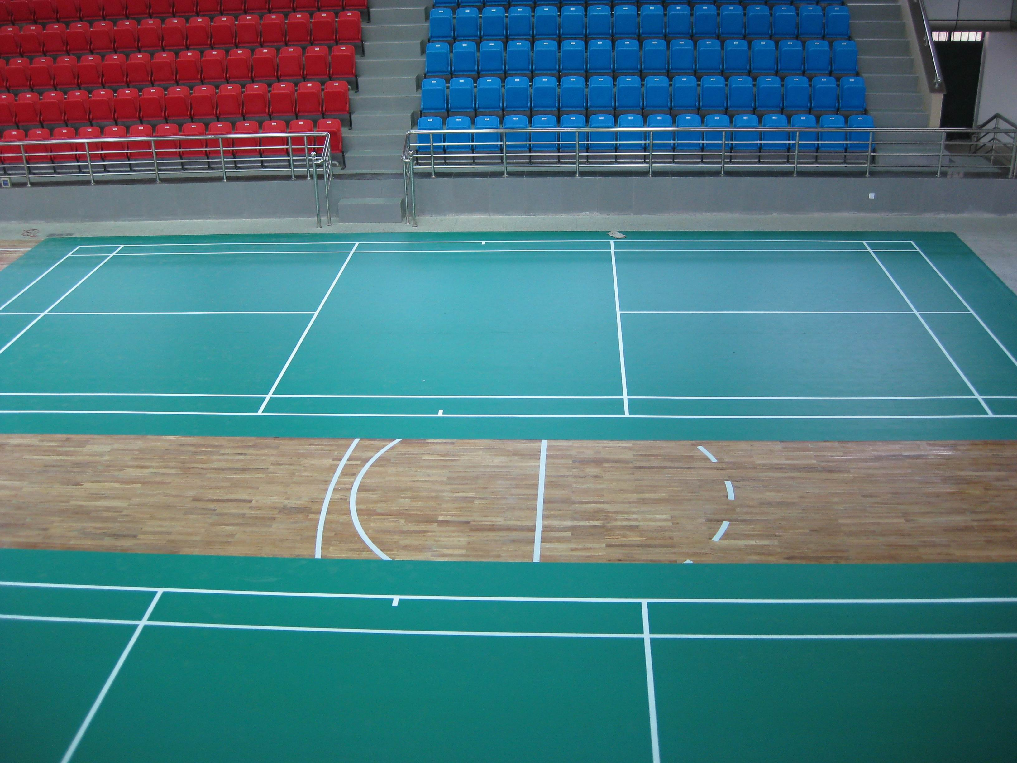 最耐用地板-青岛健身房地板-塑胶地板