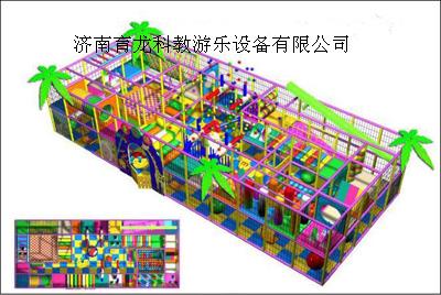 淘气堡儿童乐园儿童游乐场 - [其他,其他] - 全球塑胶
