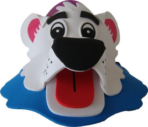 EVA卡通帽子大体分为动物系列,节日系列,动漫定做系列等. 又可做成DIY散片,给小朋友们自己动手制作. 产品名称:卡通动物帽子(eva动物帽子,立体帽子) 产品尺寸:3岁以上儿童使用(不同产品不同尺寸比例) 包装:单个OPP袋 动物卡通帽子生动的卡通动物造型,新奇的设计,丰富的色彩,戴上它你想变什么就变什么,犹如进入动物世界.