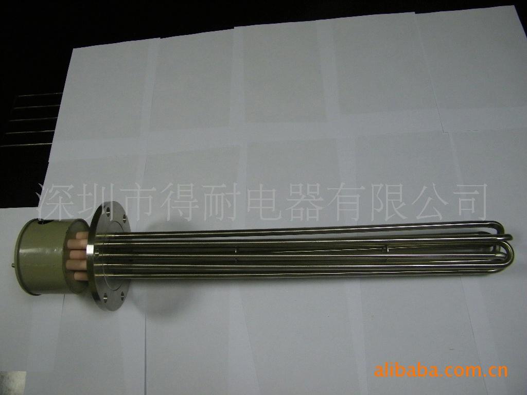 散热片型双头加热管,双头电热管