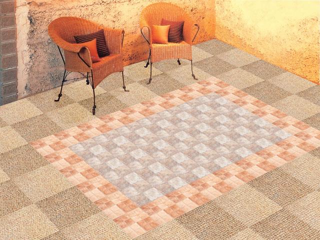 地毯袜编织方法
