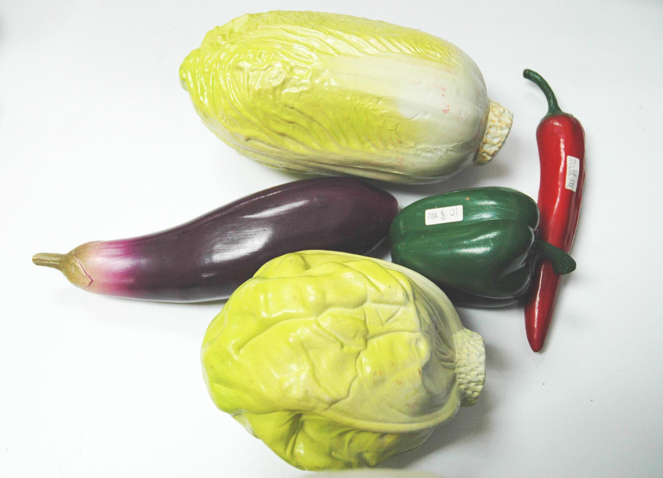 幼儿园蔬菜拼贴画