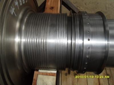 发电厂轴颈划伤修复-模具