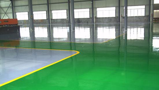 环氧树脂地坪漆,厂房装修地板漆