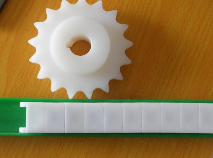 上海 链条/太阳能电池板层压机塑料链条