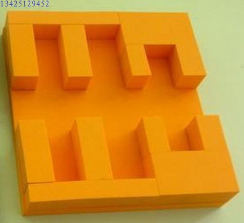 彩色eva包装 异形包装盒