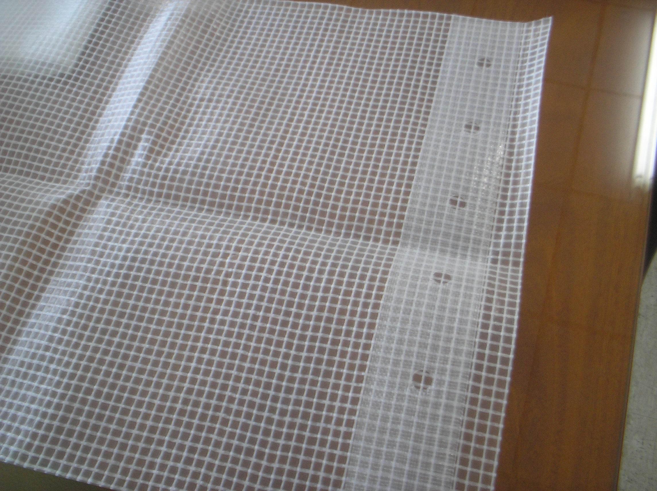 浙江海宁神彩布业有限公司复合涂层新材料有限公司是一家专业生产灯箱布、喷绘布、防水布、篷布等产品的企业。我公司自2005年成立以来,一直致力于PVC涂层布、篷布、夹网布、灯箱布、喷绘布等产品的生产和研究,现已形成了一套独特的生产技术,来提高产品的质量和性能。公司产品在国内外市场上都有着极佳的口碑。我公司地处浙江省海宁市经编产业园区,环境优良,交通便利。全体神彩人也在继续努力,并真诚期待和您一起共谋企业的发展,共同开创出一条神彩腾飞之路!神彩诚挚期待与您的合作,并随时欢迎您到我公司参观考察! 透明夹网布、透明