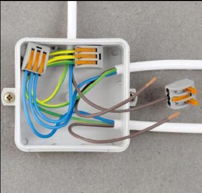 接线用端子台,弹簧夹持连接器,速普建筑物布线用连接器及连接盒用连接