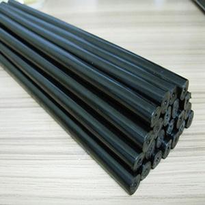 假发工艺品 黑色热熔胶棒 黑色热熔胶条