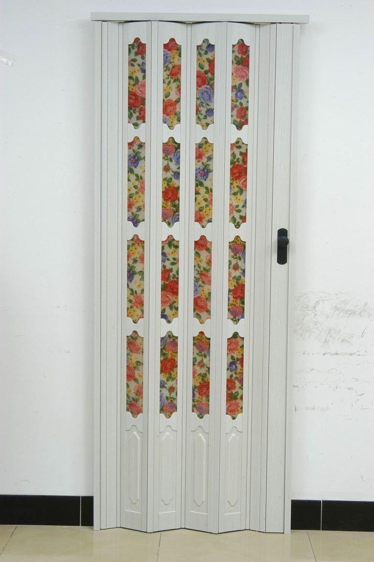 供应环保豪华pvc折叠门