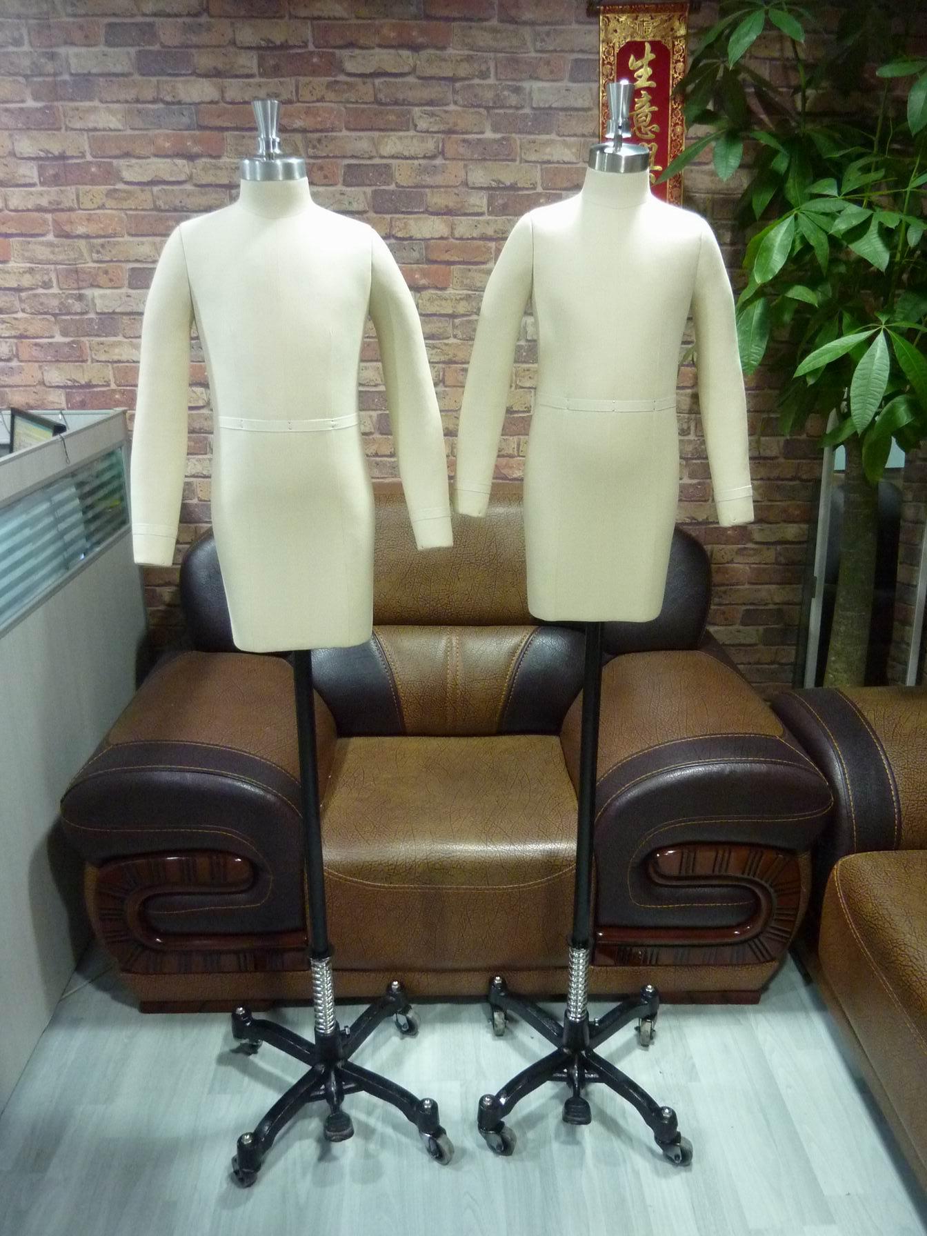东莞制衣板房模特,伸缩肩打板模特