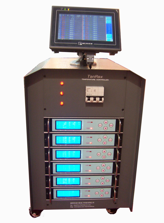 供应集中显示触摸屏温控器/触摸屏热流道温控器