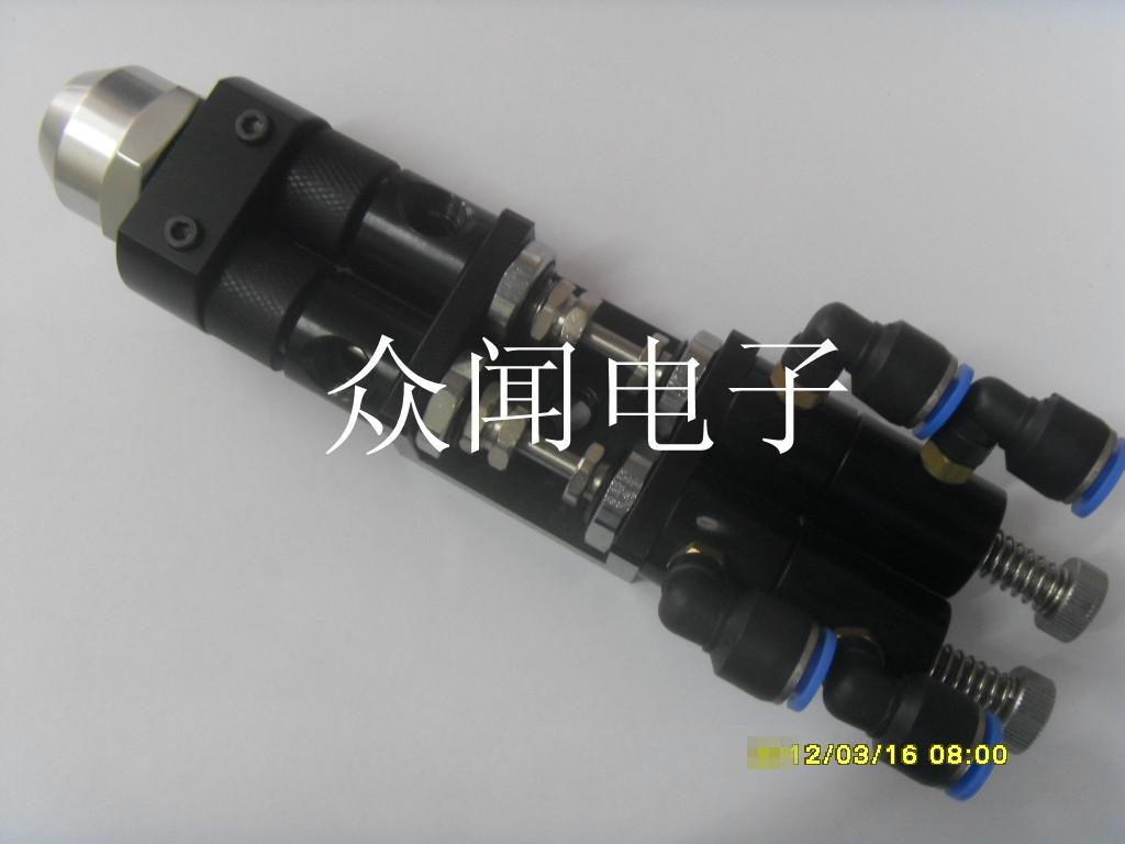 h456ab1单气缸双液回吸/提升式可调点胶阀(铝)图片
