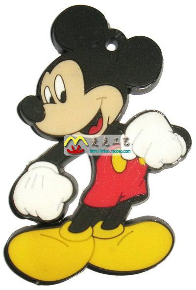 迪士尼米奇米妮老鼠 环保立体创意装饰品 浮雕送礼 冰箱磁贴