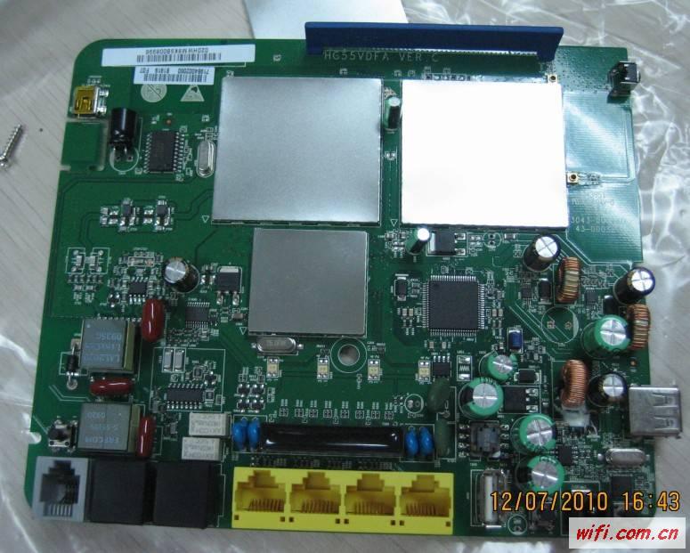 安装温度显示膜                     功率晶体管与印刷电路板