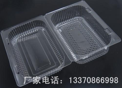 塑料透明盒 透明食品包装盒 一次性包装盒