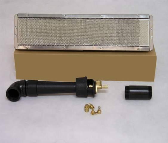 1602红外线瓦斯燃烧器炉头 602烤炉专用炉头点火器