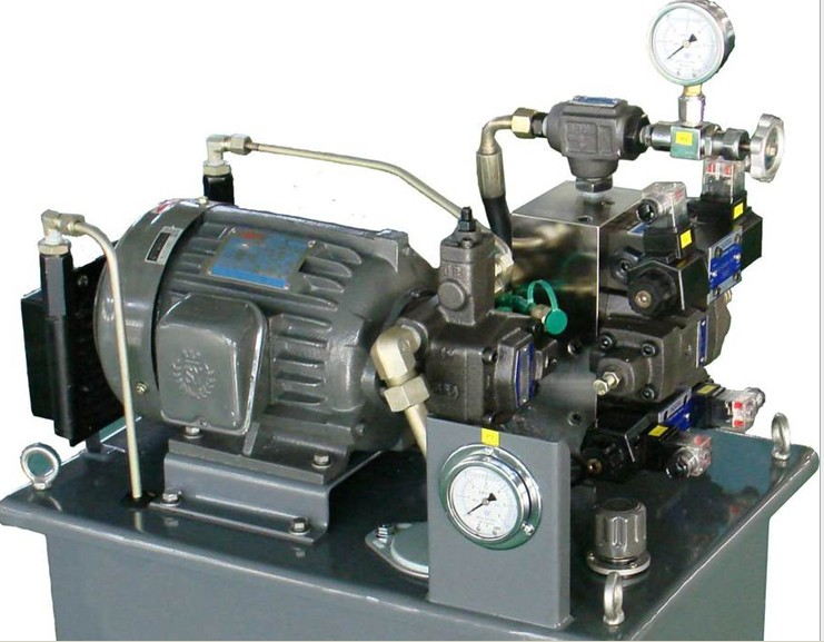 液压系统 - [注塑机,注塑机]图片